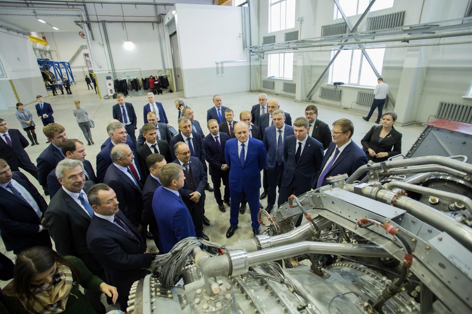 Визит Газпрома, ОДК и губернатора Пермского края на Пермские моторы