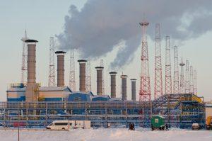 Заполярное НГКМ, УКПГ-2С, Газпром добыча Ямбург, 7хГПА-16, ПС-90