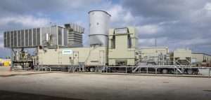 Передвижная электростанция Siemens SGT-A45