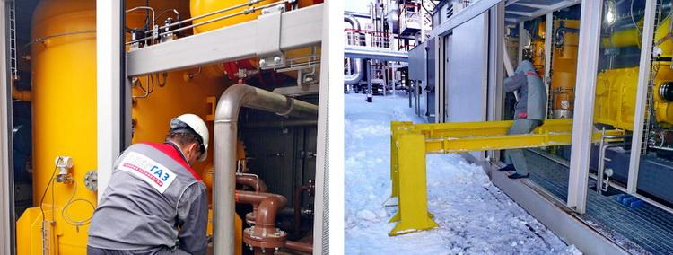 «СервисЭНЕРГАЗ» специализируется на пусках и обслуживании оборудования газоподготовки