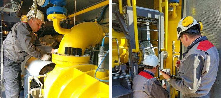 Комплексное техобслуживание многофункциональной системы подготовки топливного газа