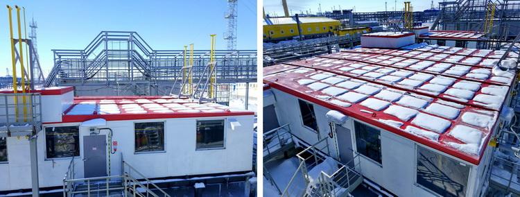 Установка подготовки топливного газа на площадке УКПГиК