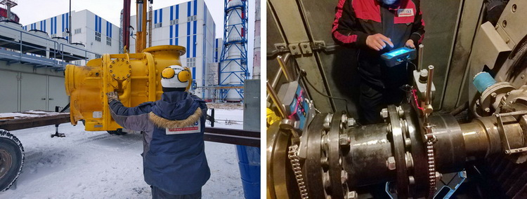 Работы выполнили технические специалисты компании «СервисЭНЕРГАЗ»