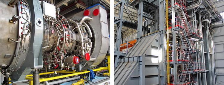 Газовая турбина и котел-утилизатор