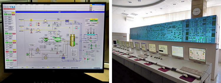 САУиР объединит локальные системы управления обеих ДКС и интегрирует их в АСУ ТП объекта