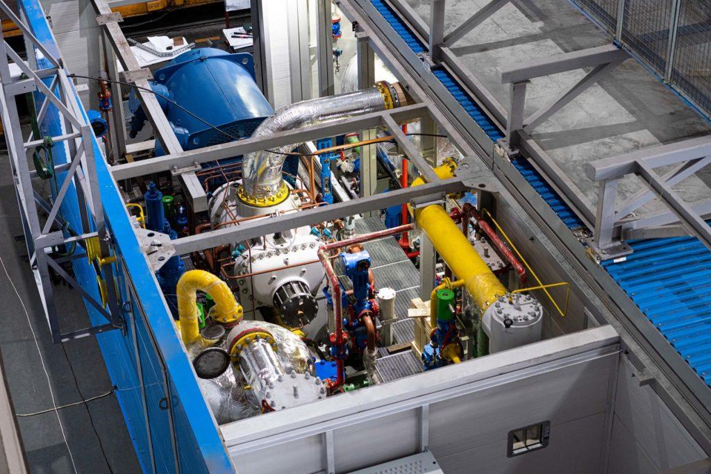 Ямбургское НГКМ_ГП-5_модельная компрессорная установка