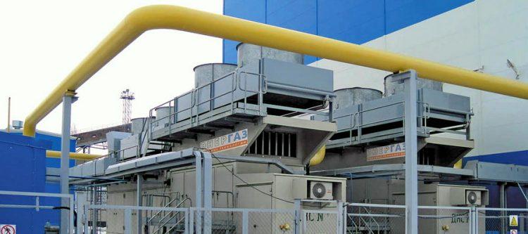 Дожимная компрессорная станция топливного газа