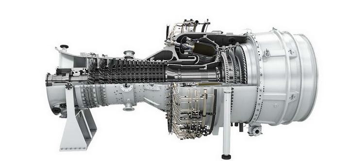 Макет турбины SGT-800