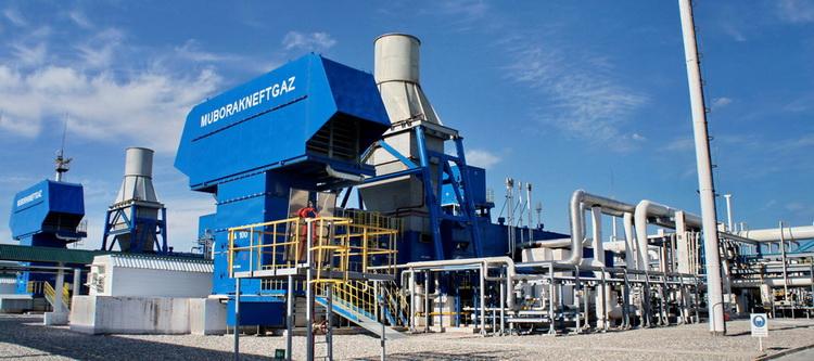 ДКС состоит из двух турбокомпрессорных газоперекачивающих агрегатов ГПА-16 «Волга»
