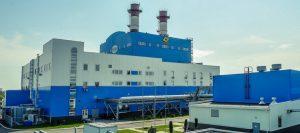 Парогазовый энергоблок электрической мощностью 116,9 МВт