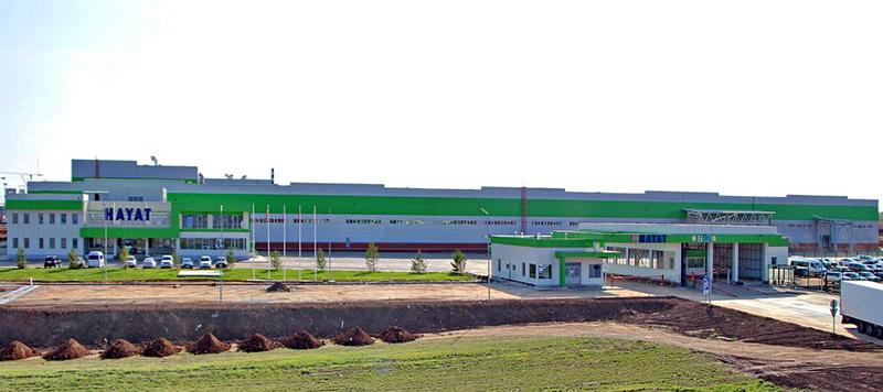 Завод «Хаят Кимья» в особой экономической зоне «Алабуга» (Татарстан)