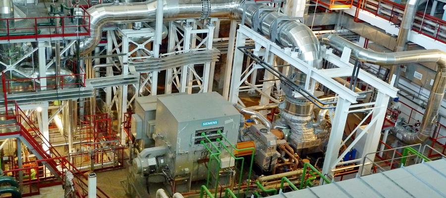 В 2015 году новая паровая турбина SST-300 была вписана в технологическое пространство действующей ПГУ